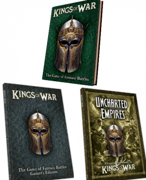 Kings of War 3rd Edition Complete Book Bundle