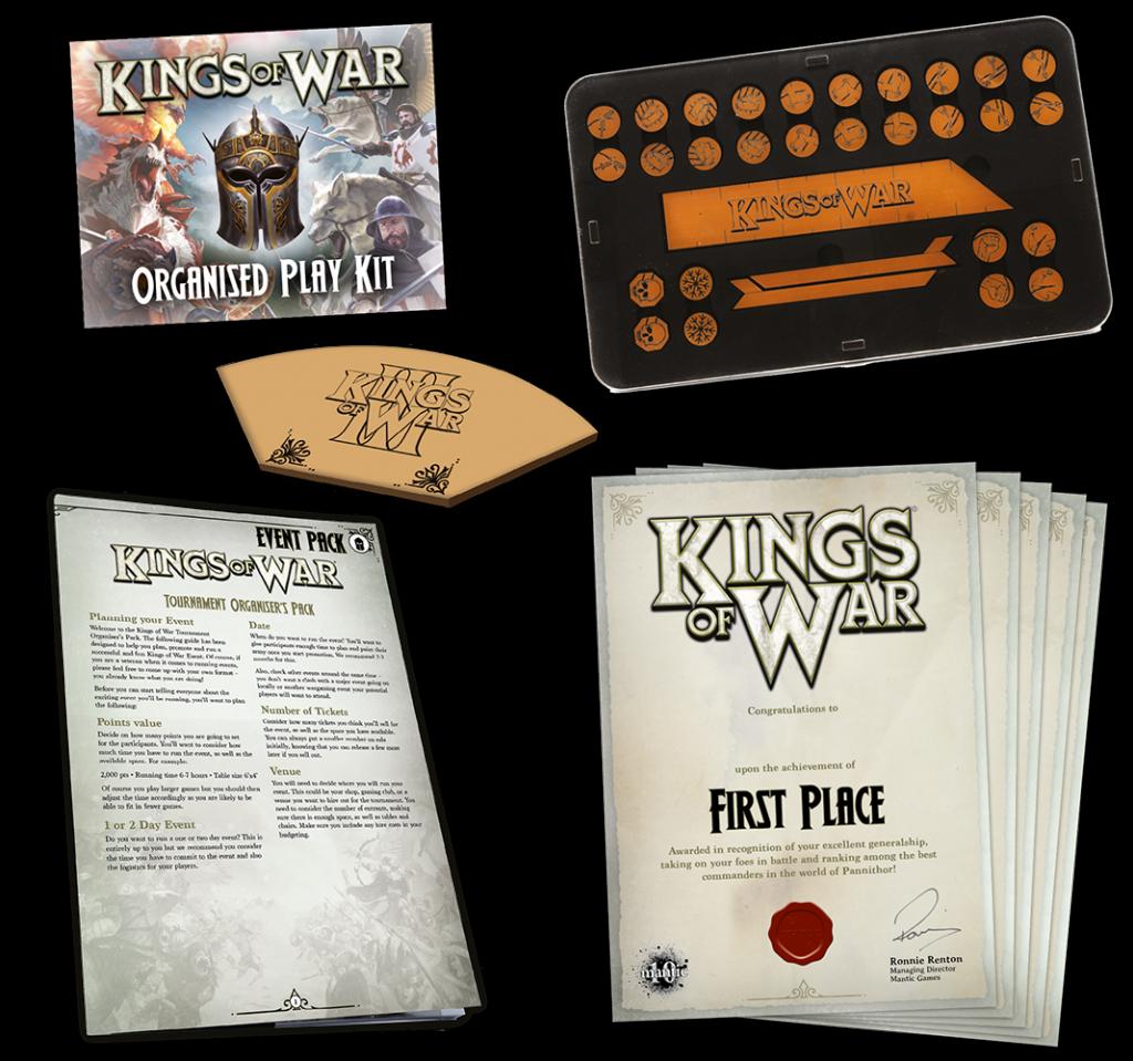 Kings of War Organised Play kit