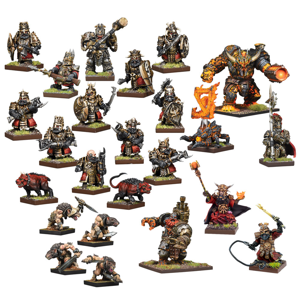 Abyssal Dwarf Vanguard Bundle (Mantic Direct)