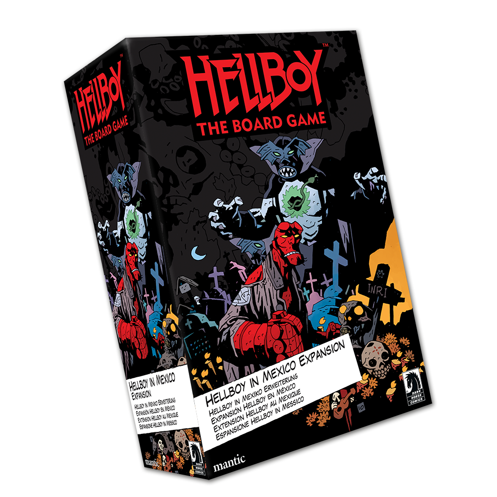 Helboy: The Board Game – Hellboy in Mexico Expansion