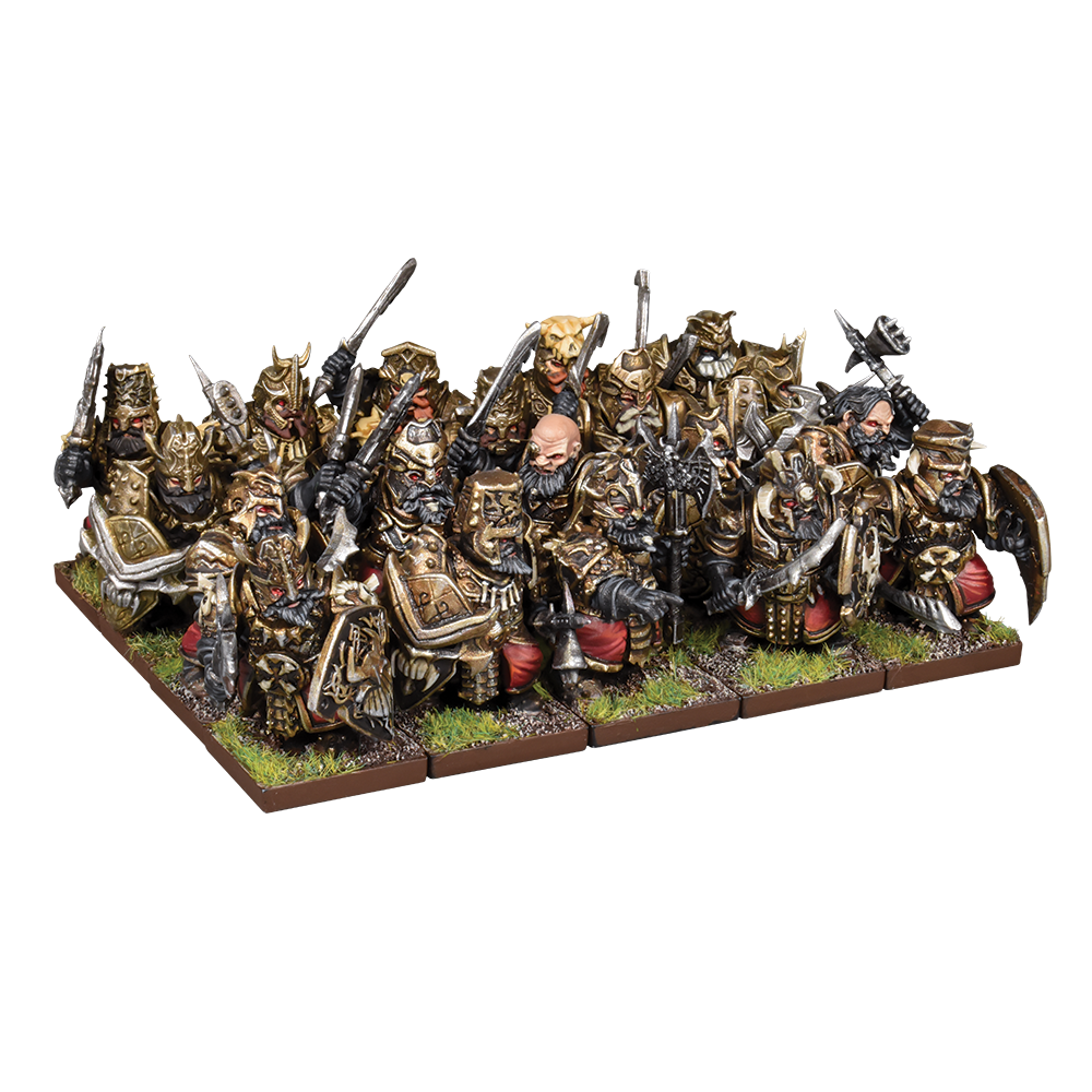 Abyssal Dwarf Blacksouls and Decimators Plastic Frame (Mantic Direct)