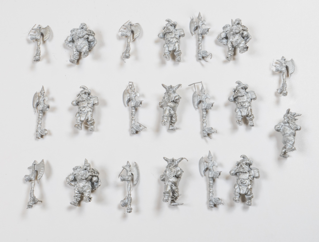 Abyssal Dwarf Berserker Troop (Mantic Direct)