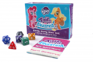 Tails of Equestria: Dice set – Earth Pony