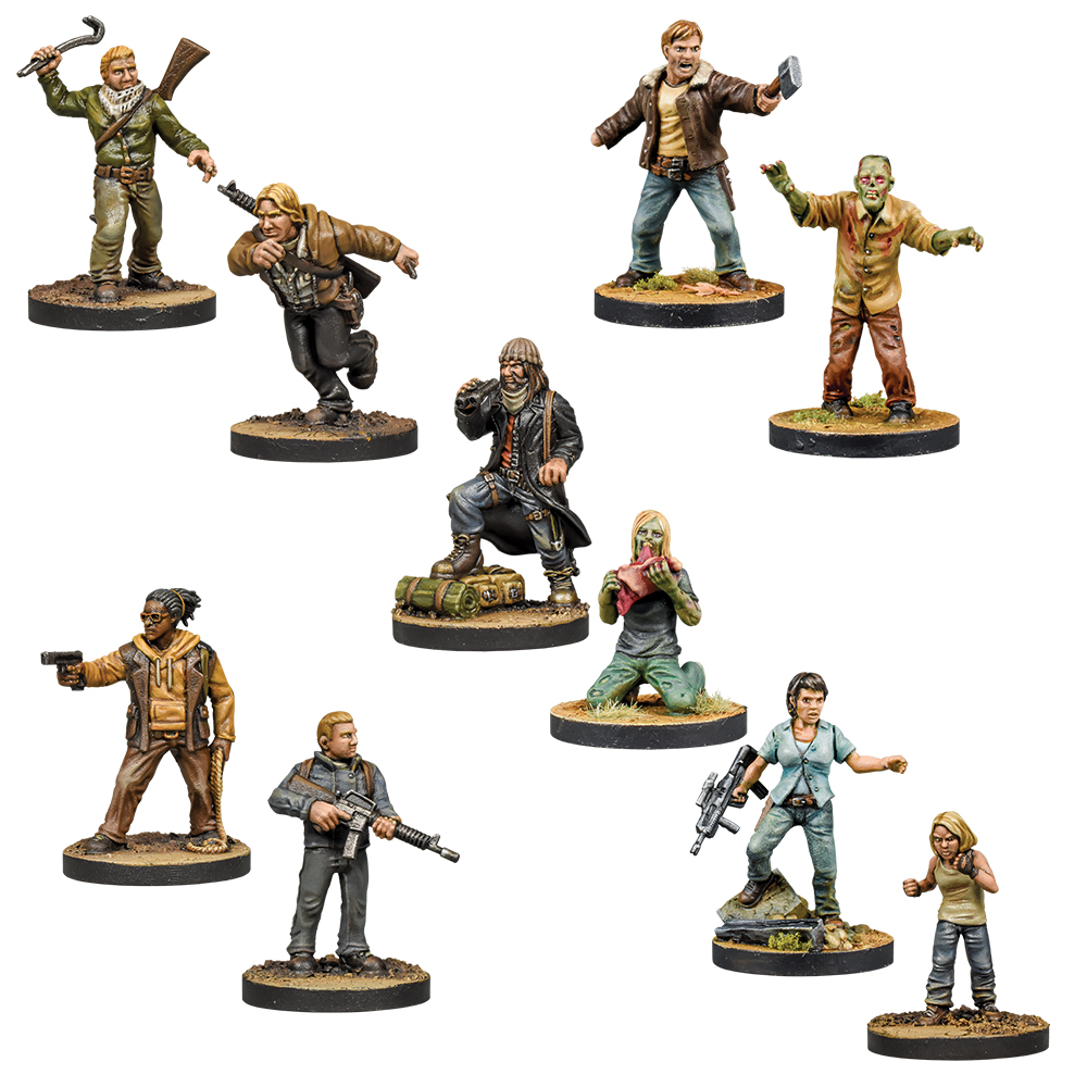 Walking Dead Wave 6 Bundle