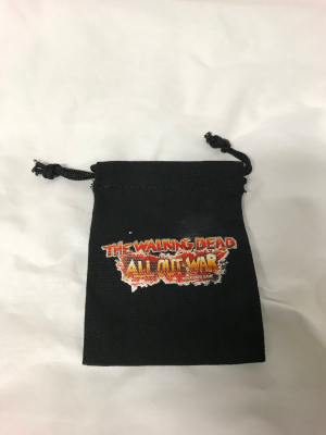 15 Mantic Points Walking Dead Dice Bag