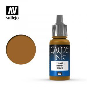 Vallejo Game Ink Inky Brown