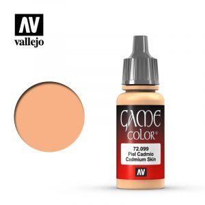 Vallejo Game Color Cadmium Skin