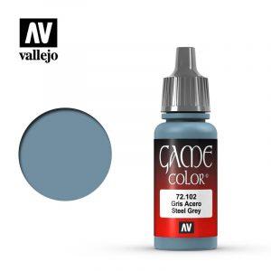 Vallejo Game Color Steel Grey
