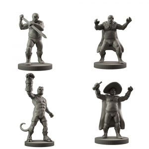 Resin Hellboy in Mexico Agents
