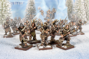 Northern Alliance Clansmen Regiment with Two-Handed Weapons