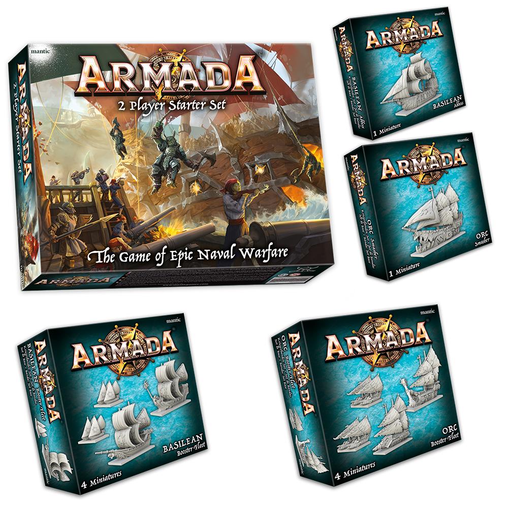 Armada Launch Bundle