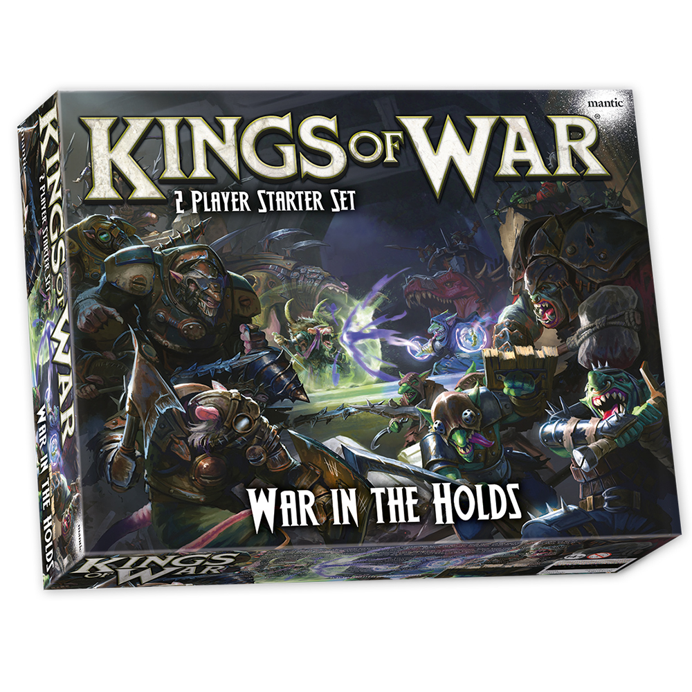 Kings of War: War in the Holds with FREE Halpi's Rift
