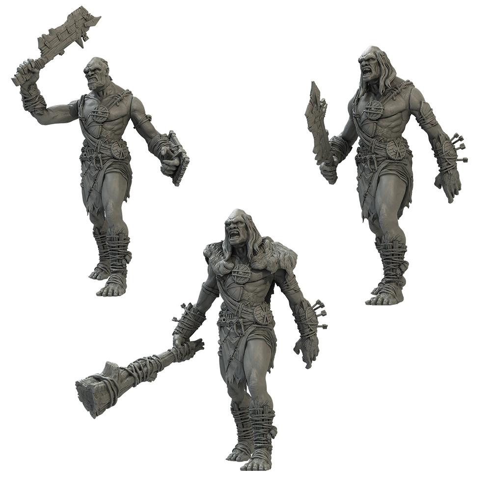 Kings of War Giant Three Pack