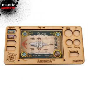 Armada MDF Ship Card Tray (web exclusive)