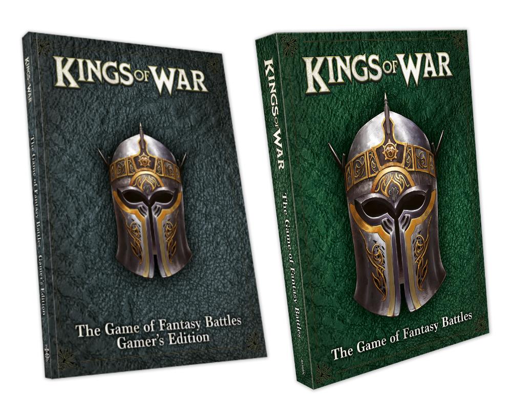 Kings of War 3rd Edition Rulebook bundle