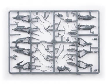 Elves Bowmen Troop Plastic Frame (Mantic Direct)