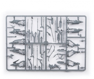 Elves Spearmen Troop Plastic Frame (Mantic Direct)