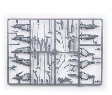 Plastic Frame Elves Spearmen Troop