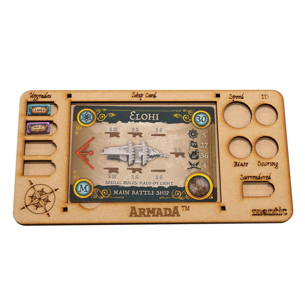 Armada MDF Ship Card Tray (Mantic Direct)
