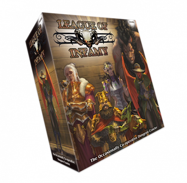 League of Infamy Retail box