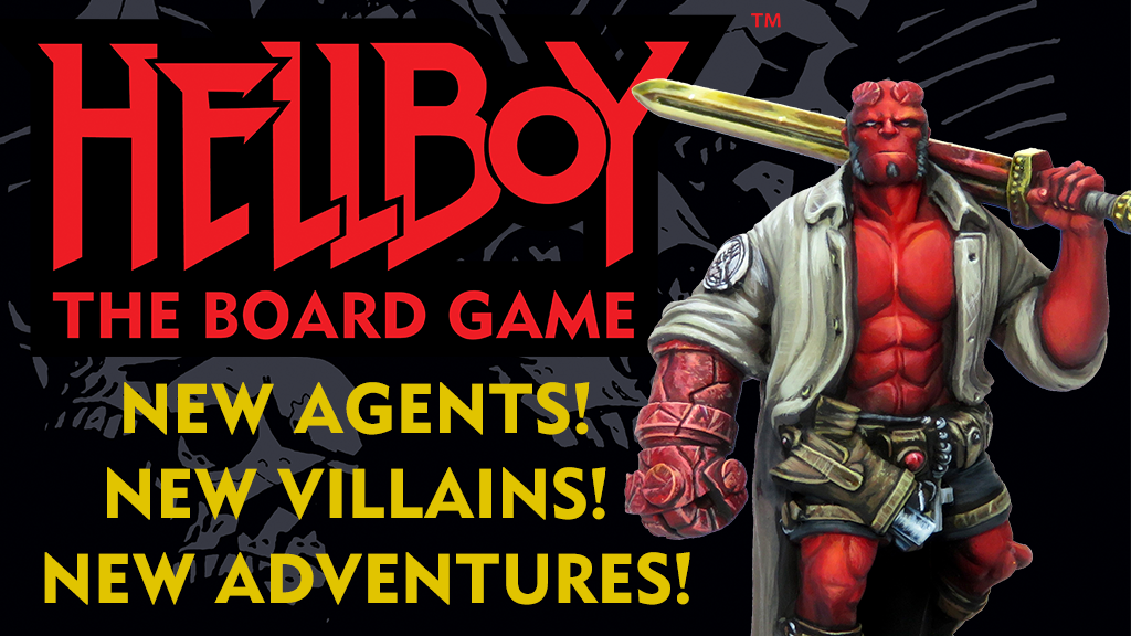 Hellboy: The Board Game – New Agents