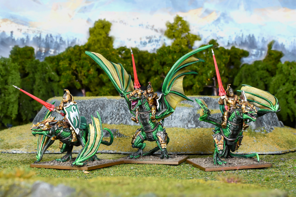 Elf Drakon Riders Regiment