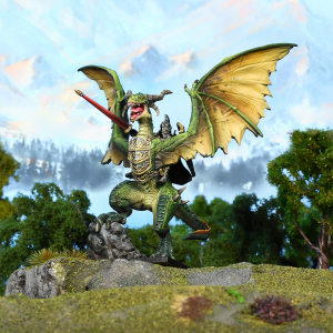 Elf Lord on Drakon