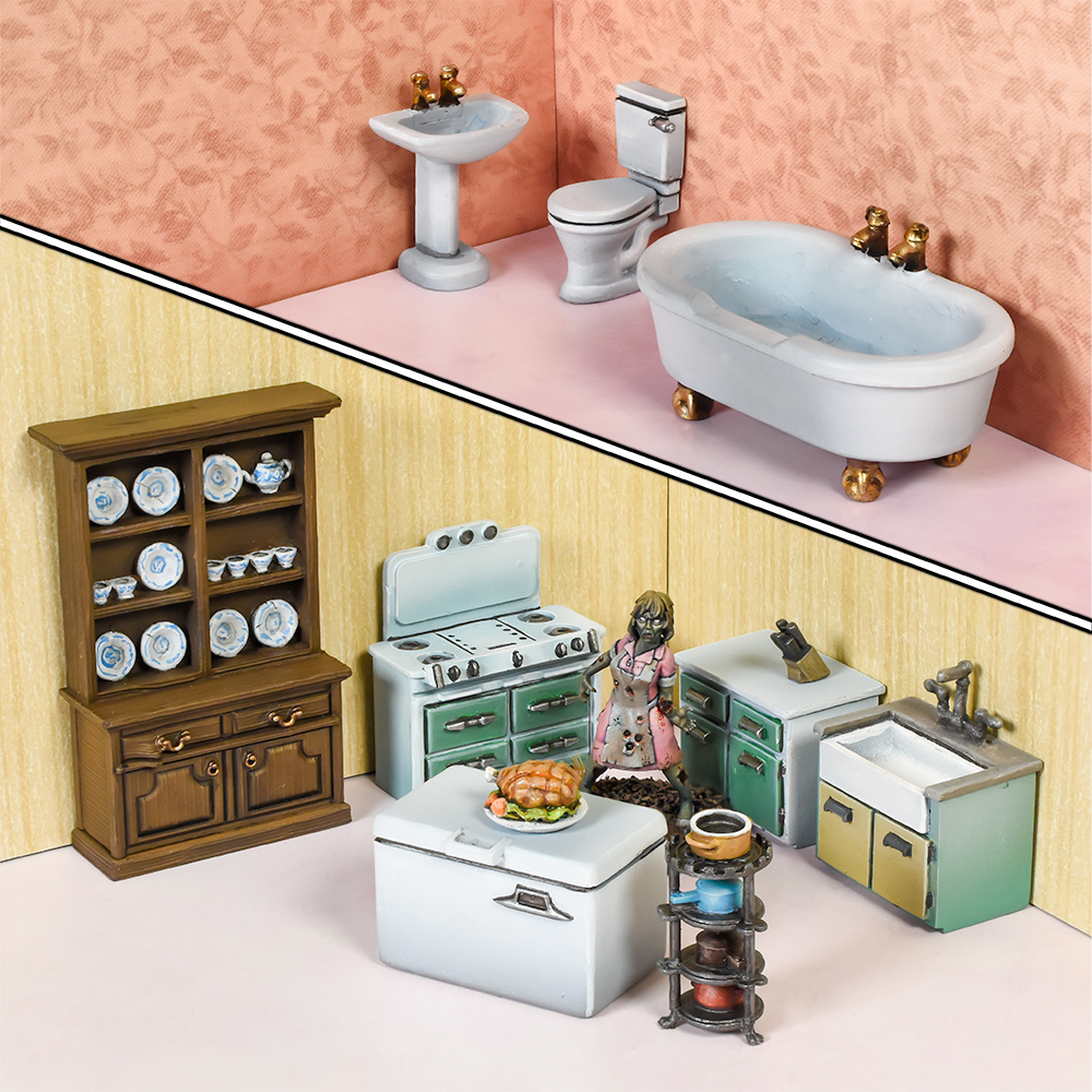 TerrainCrate: Bathroom & Kitchen